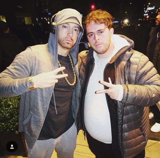 2017.11.18 - Eminem and fan @ SNL 2