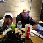 2017.11.30 - Eminem and Mike Saputo