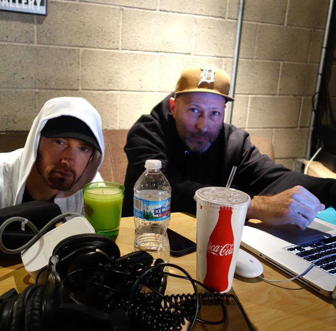 2017.11.30 - Eminem and Mike Saputo