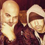 Eminem и Paul Rosenberg MTV EMA 2017