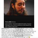 Azealia Banks раскритиковала Post Malone, упомянув Эминема