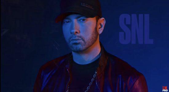 Полная запись выступления Eminem'а и Skylar Grey на шоу Saturday Night Live
