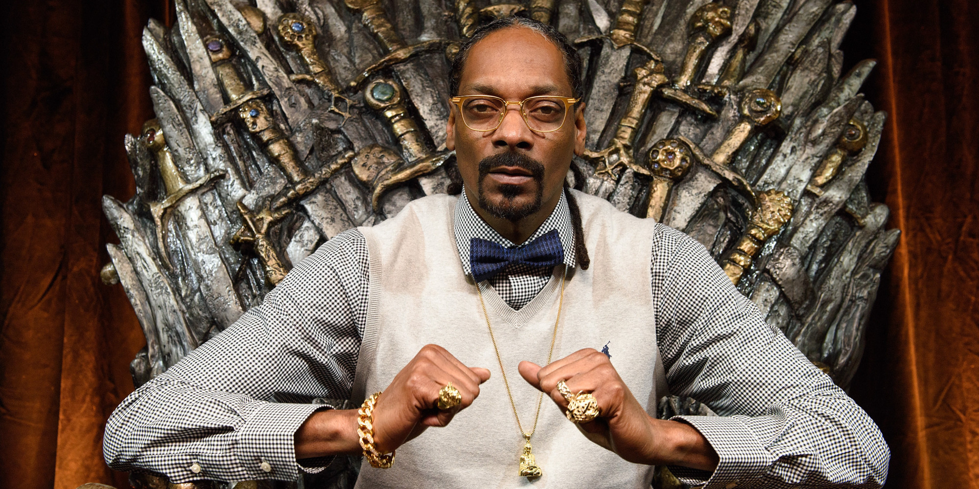 AUSTIN, TX - MARCH 20: Snoop Dogg attends HBO Game of Thrones Presents: Snoop Dogg Catch The Throne Event At SXSW on March 20, 2015 in Austin, Texas. (Photo by Daniel Boczarski/Getty Images for HBO Game of Thrones)