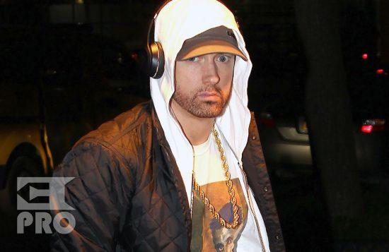 [Эксклюзив] Eminem возвращается в свой отель вечером 16 ноября