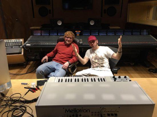 2017.12.13 - Ed Sheeran and Eminem