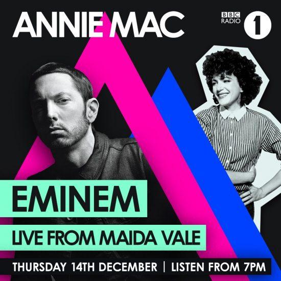 2017.12.14 - Eminem BBC Radio 1 Ad