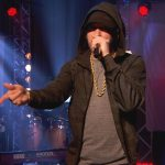 Eminem and Annie Mac (BBC Radio 1)