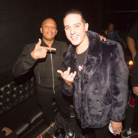 G-Eazy and Dr. Dre 15 декабря 2017