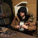 Eminem устроил автограф-сессию на открытии магазина «Mom's Spaghetti» в Детрйоте