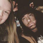 Eminem устроил автограф-сессию на открытии магазина «Mom's Spaghetti» в Детройте 15 декабря 2017