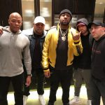 2018.01.22 - Dr.Dre, Mr. Porter, Mike Will, Eminem and DJ Mormile