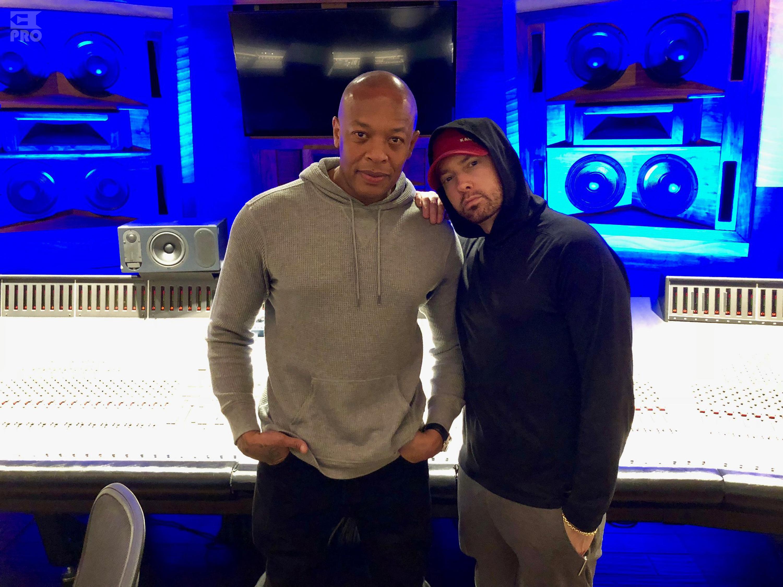 Eminem поделился совместной фотографией с Dr. Dre (22.01.2018)