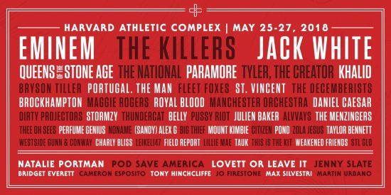 Eminem выступит на музыкальном фестивале Boston Calling