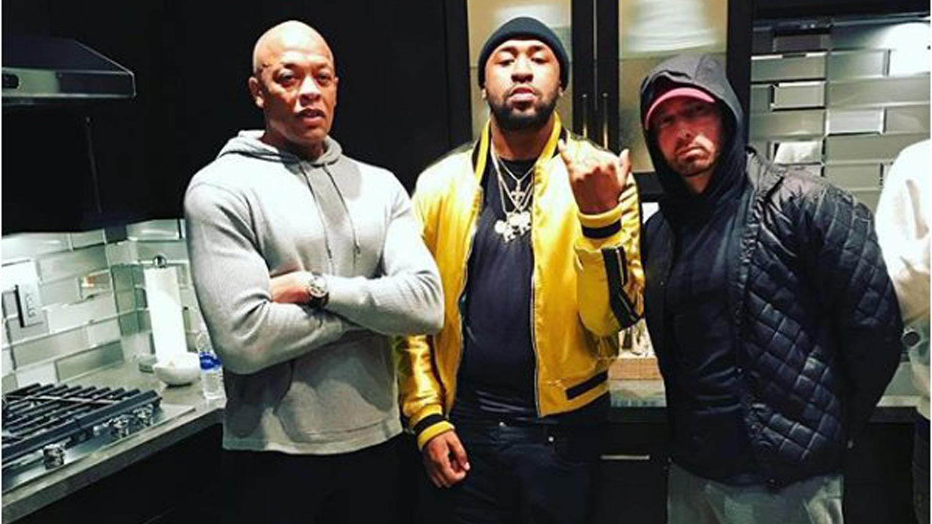 Eminem, Dr. Dre & Mike WiLL-It возможно работают над совместным проектом (22.01.2018)