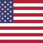 Красный, белый и синий-официальные цвета флага Соединенных Штатов Америки.