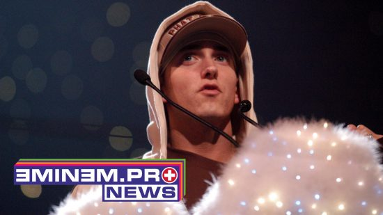Eminem during MTV European Music Awards 2002 MTV European Music Awards 2002 at Palau Sant Jordi in Barcelona, Spain. (Photo by Jeff Kravitz/FilmMagic, Inc)