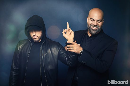 Eminem, Paul Rosenberg, Detroit Day Space Studio, 9 января 2018, Billboard