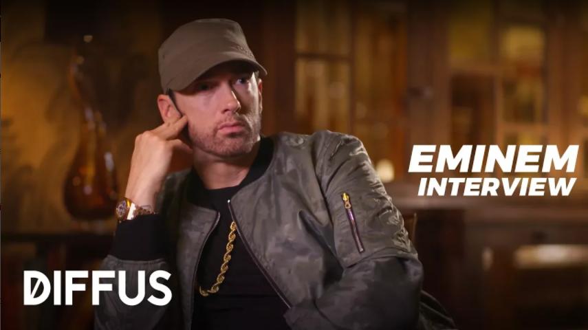 Eminem дал большой интервью немецкому изданию DIFFUS Magazin, в котором рассказал о дружбе с Dr. Dre, о том, чем различаются их процессы записи треков и о том, как Eminem создаёт новую музыку. Одна из самых интересных частей интервью Эминема для европейских СМИ. Читайте полный перевод
