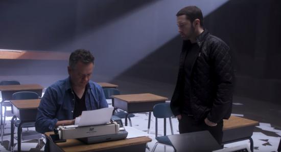 За кадром: Режиссёр Рич Ли и Eminem рассказывают о съёмках клипа «Walk on Water»