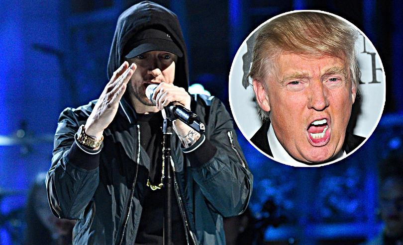 Эминем: «Каждый должен сочинить анти-Трамп песню, даже если вы не американец»