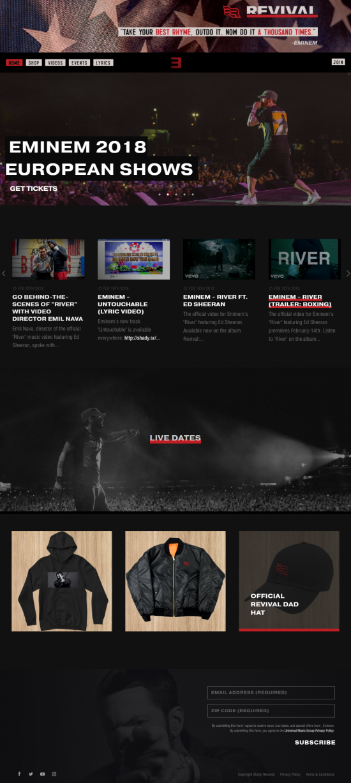 Привычный нам MMLP2-дизайн, впервые появившийся на официальном сайте Эма в августе 2013-го года, сменился на новенький, в стиле «Revival».