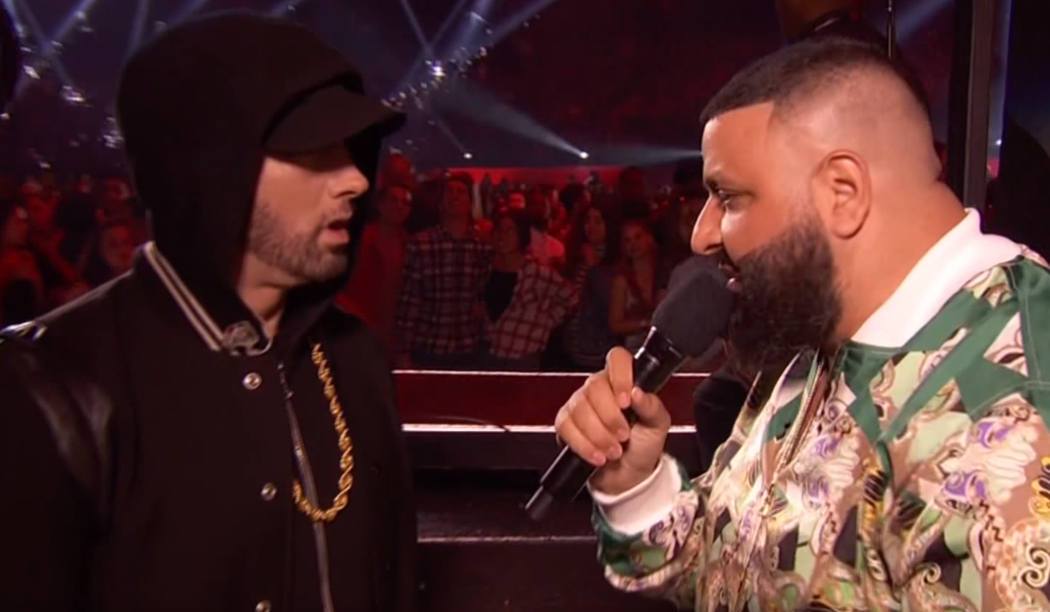 DJ Khaled работает над новым альбомом и хочет Эминема в качестве гостя на нём
