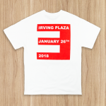 Limited Edition T-shirt from Eminem's 2018 Irving Plaza performance.