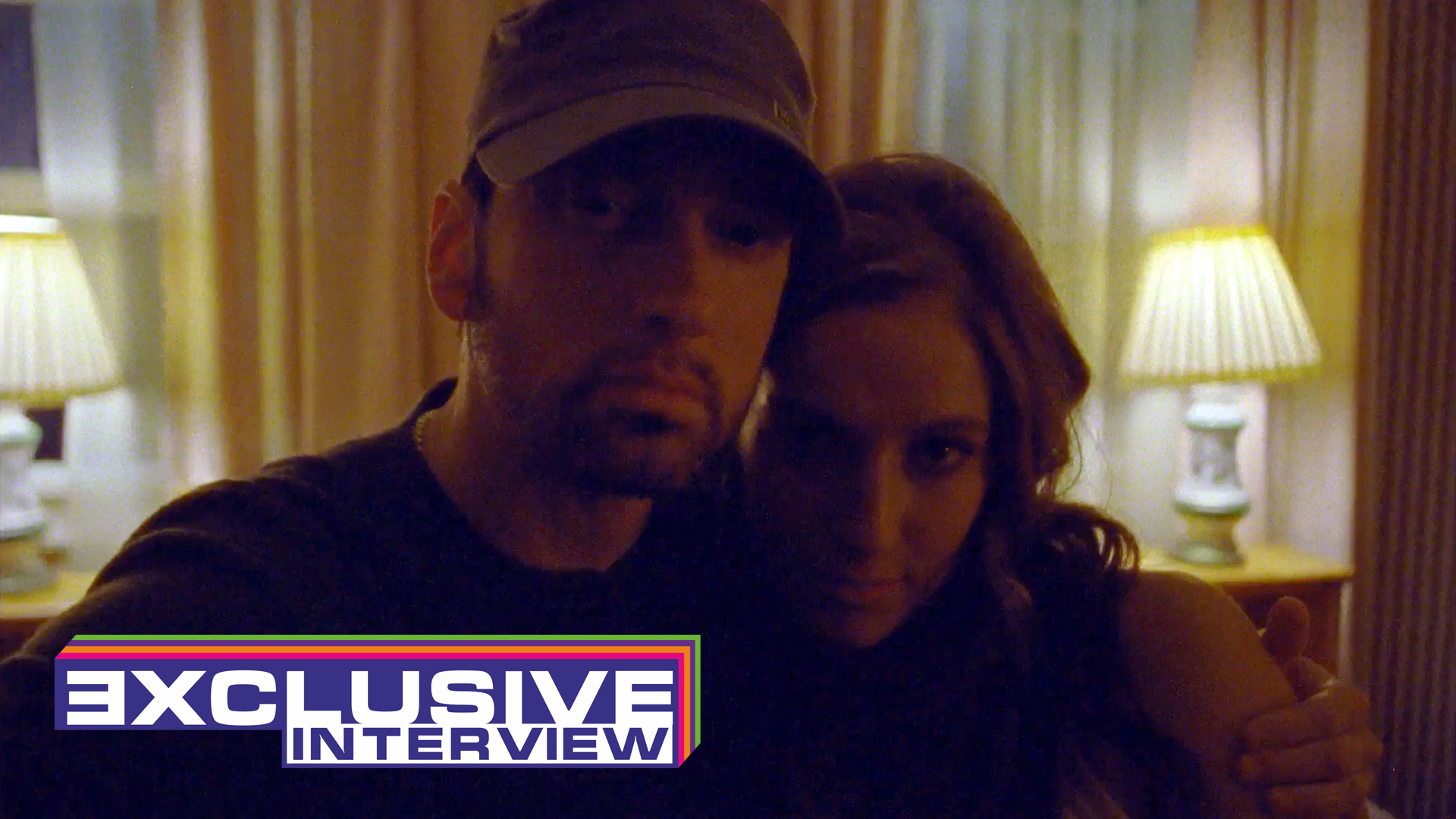 Eminem.Pro exclusive interview with Sarati, actress who played Suzanne in Eminem's and Ed Sheeran's video «River».