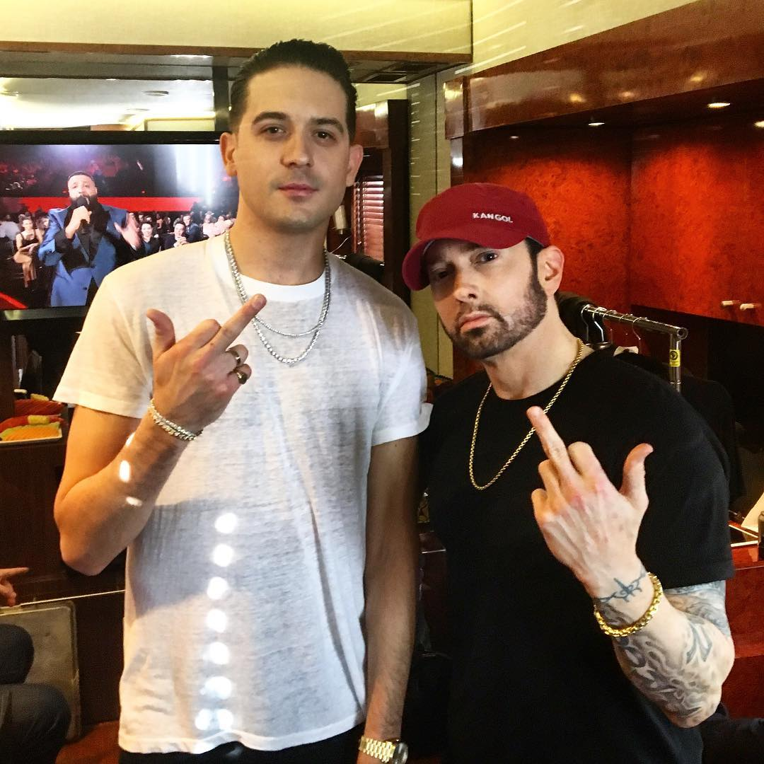 G-Eazy и Eminem, iHeart Music Awards 2018, 11.03.2018