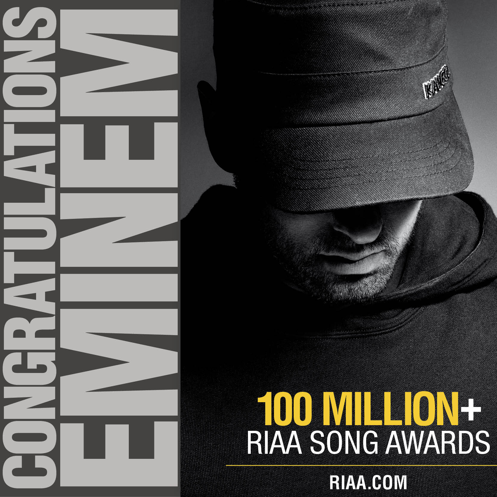 RIAA: Все сертификаты Эминема (Gold & Platinum)
