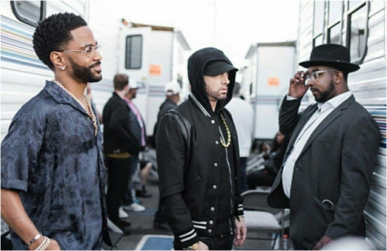 Eminem & Big Sean (@ Backstage iHeart Music Awards 2018, 11.03.2018)