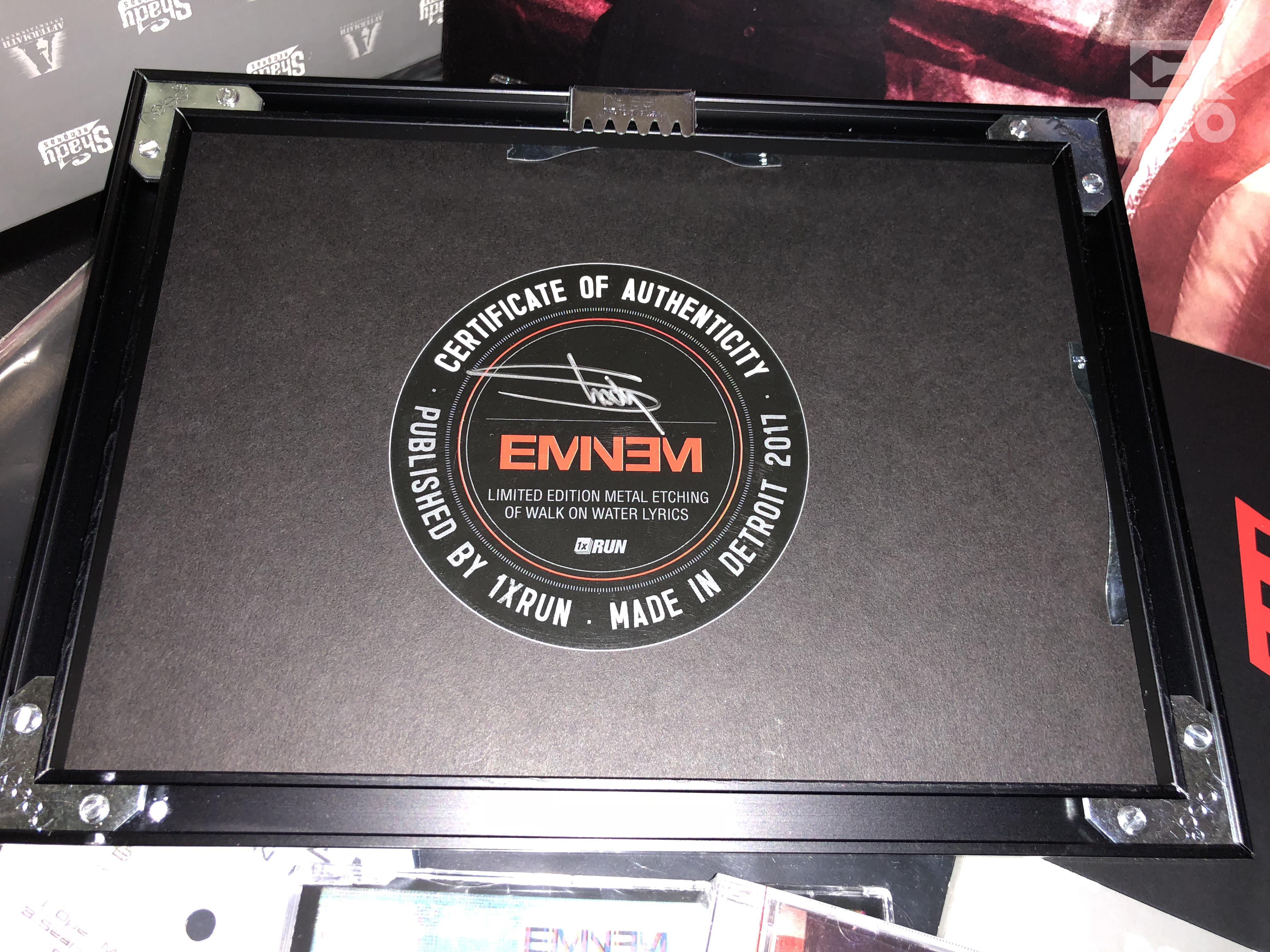 Распаковка: Эксклюзивный мерчендайз от Эминема для Stan'ов на открытие предзаказа альбома «Riveval». Eminem.Pro
