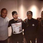 Eminem, Dr. Dre, Smokey Robinson и Anderson Paak работают вместе в студии