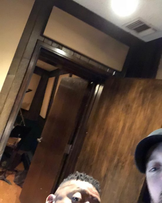 2018.04.15 - Eminem and Mr. Porter Selfie