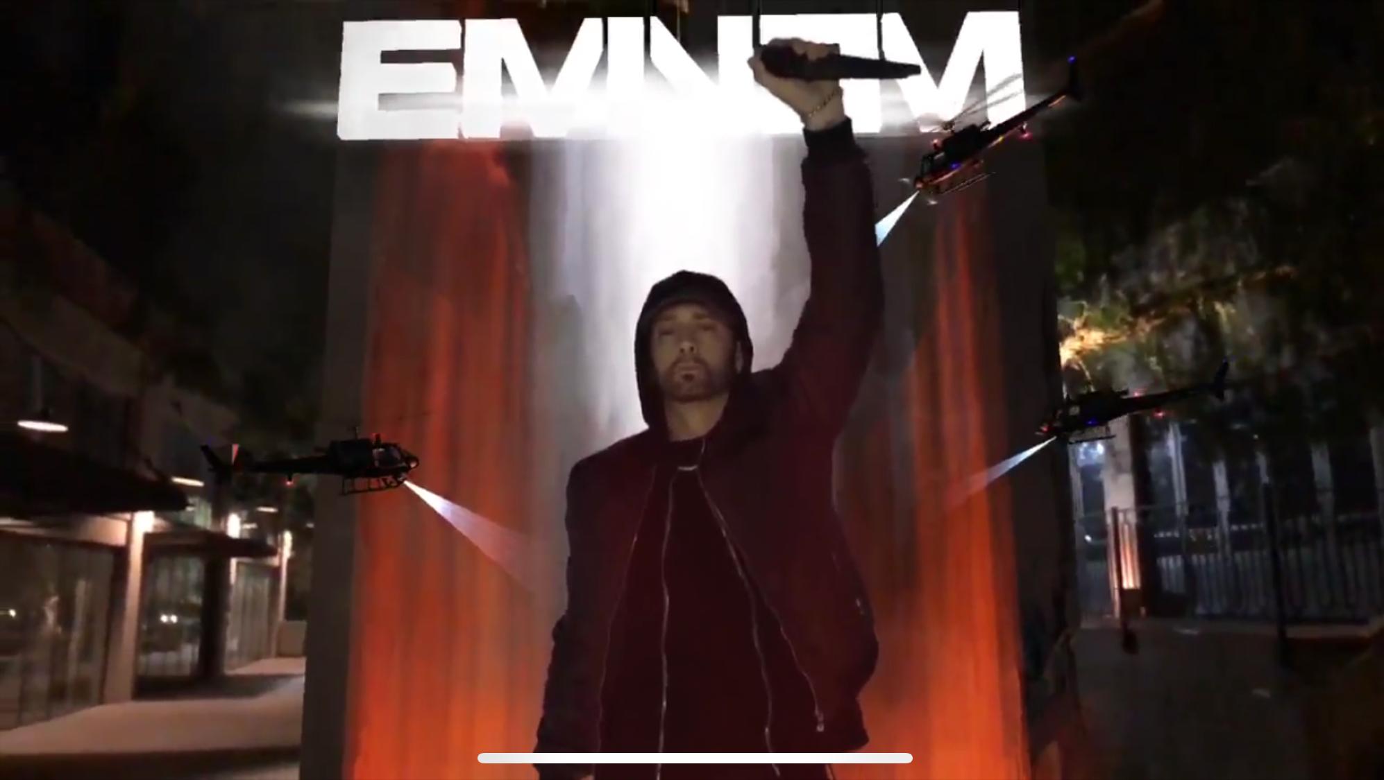 Eminem выпустил приложение с дополненной реальностью