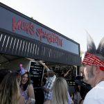 .@Eminem has opened a Mom's Spaghetti pop-up restaurant at Coachella. #Coachella #Coachella2018