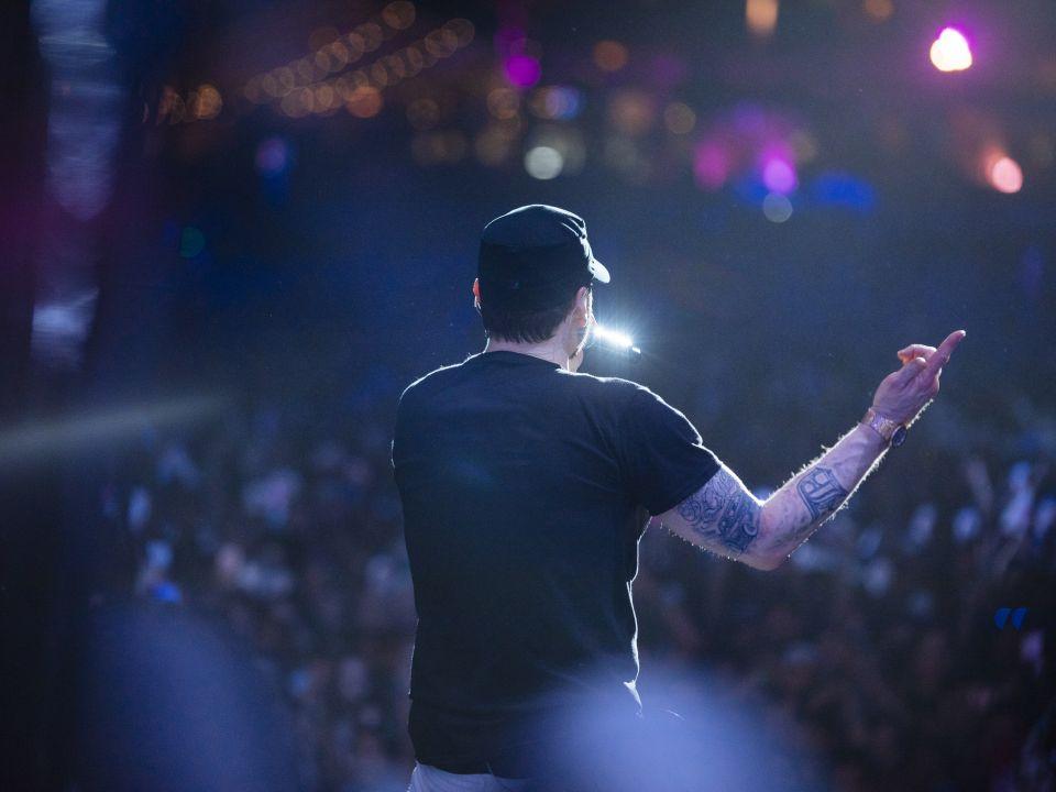 Eminem at Coachella 2018 Weekend 1 (15.04.2018) Jeremy Deputat
