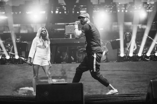 Eminem at Coachella 2018, weekebd 2, 22.04.2018 JEREMY DEPUTAT