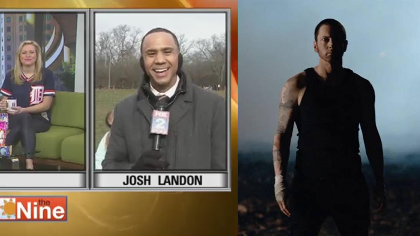 Josh Landon on Framed Music Video