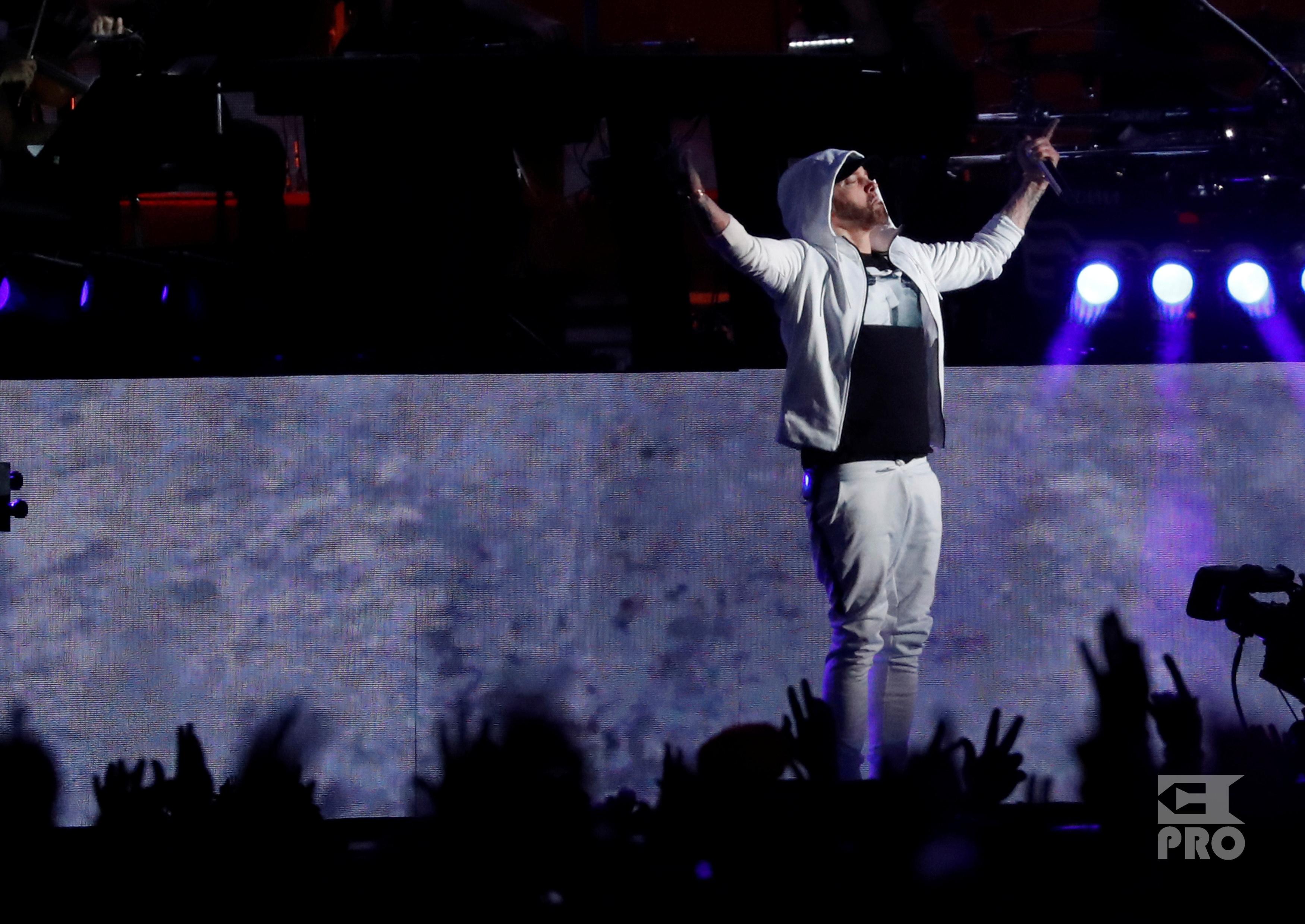 Eminem at Coachella 2018 Weekend 1 (15.04.2018) Eminem.Pro
