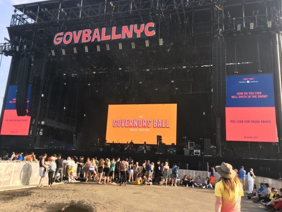 Сцена The Governors Ball 2018 Eminem