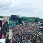 Громадина «Green Stage», на которую Eminem выйдет 28 мая в 4:10 утра по Москве.