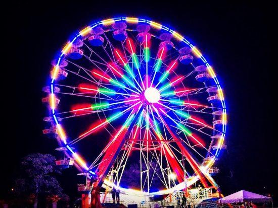 Каждый «уважающий» себя фестиваль имеет в запасе чёртово колесо