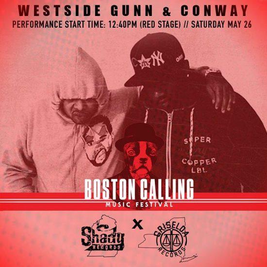Новички команды SHADY-GRISELDA также будут принимать участие в фестивале Boston Calling 2018.