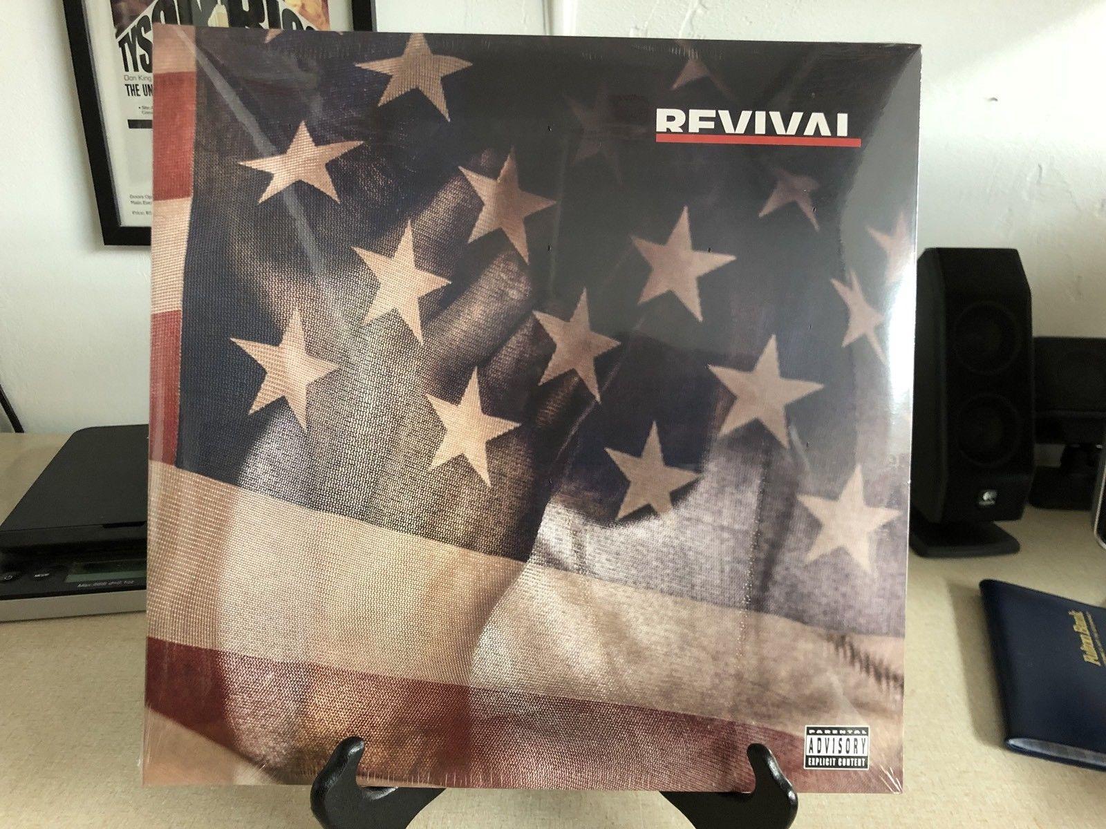 Альбом Эминема «Revival» вышел на виниле