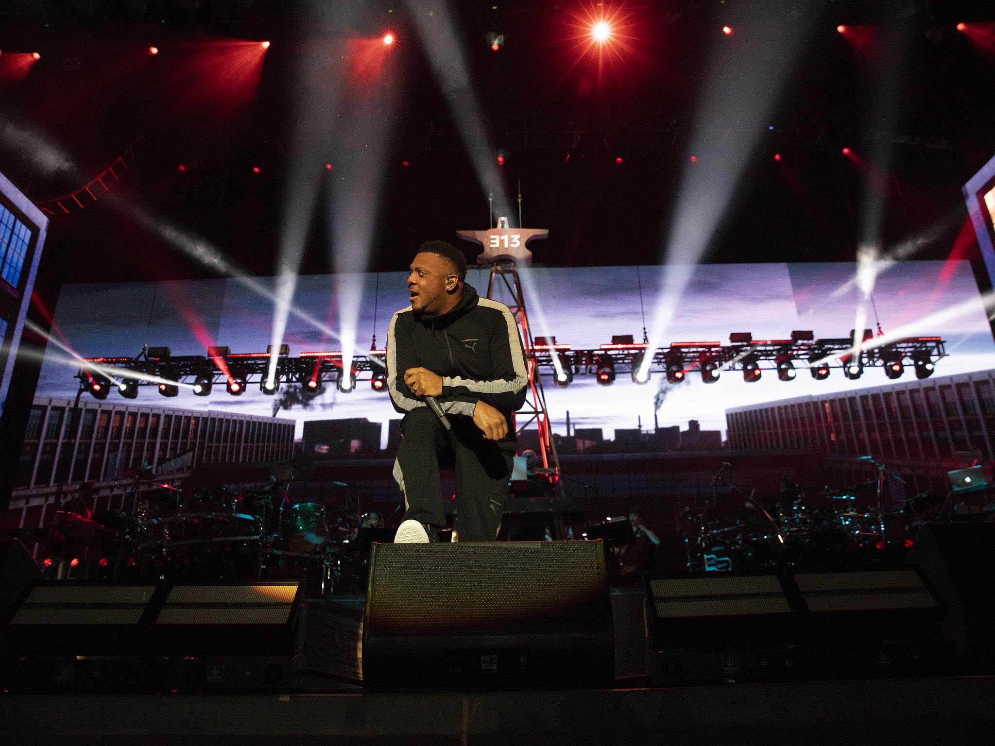 Eminem live at Bonnaro 2018, Photo Jeremy Deputat Eminem.Pro