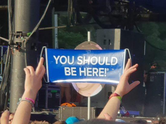 На сцену вышел Lil Wayne. Началась жара Firefly Music Festival 2018