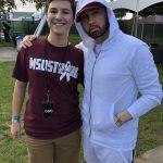 Alex Moscou Eminem с фанатами в VIP-зоне фестиваля The Governors Ball 2018