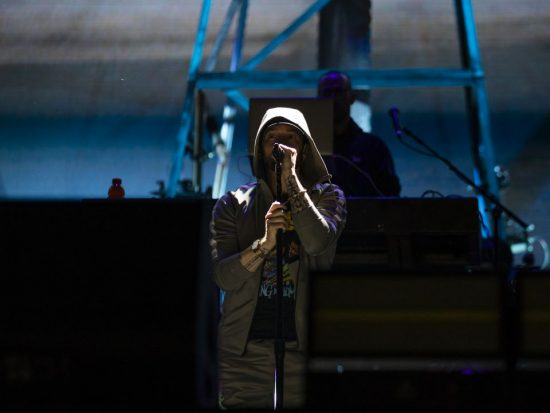 Eminem at Governors Ball Music Festival 2018