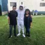 Eminem с фанатами в VIP-зоне фестиваля The Governors Ball 2018 Lupe Lopez